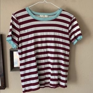 Urban Outfitters Truly Madly Deeply Striped tee